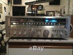 Sansui G 9700 Receiver Amplifier, Wood Cased Classic 200wrms 23 KG Beast