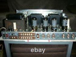 Scott 340B Stereo Receiver/Tuner/Preamplifier/Amplifier Tube 7591/12AX7/12AU7