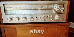 Serviced Realistic 2000D receiver/amplifier/preamp + 2 Optimus 100 speakers