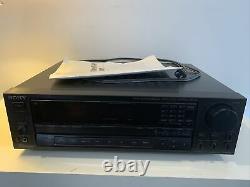 Sony AV Receiver Amplifier Tuner Stereo with PHONO PRE-AMP STR-AV720, TESTED WORKS