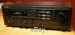 Sony Spontaneous Twin Drive Am Fm Stereo Receiver Str-gx10es