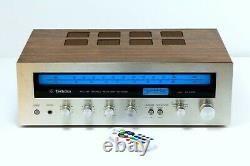 Technics SA-5060 FM-AM Stereo Amplifier, Remote LED conversion, Phono preamp