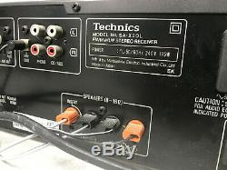 Technics SA-X20L Amplifier FM/MWithLW Stereo Receiver& speakers sweet retro sound