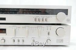 Technics SU-V5 Stereo Integrated Amplifier & ST-S2L Radio Tuner Receiver Silver