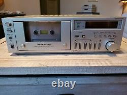 Tecnics Micro Series Stereo, 5 PcsTape Deck, FM/AM Tuner, Preamp, Amplifier, &