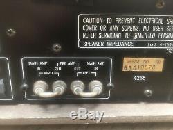 Vintage Rotel RX-402 Stereo Receiver Amplifier AM FM Phono Tape Aux Quadrosound