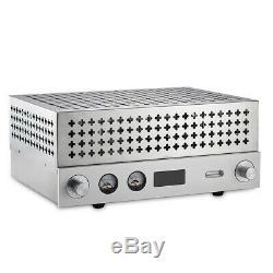 Vintage Vacuum Tube FM Radio Receiver Wireless Stereo Audio Amplifier Speaker