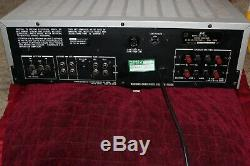 Vintage rare JVC R-S7 Stereo Receiver Amplifier