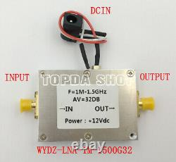 WYDZ-LNA-1M-1500G32 Low Noise Amplifier Receiver Preamp with Power