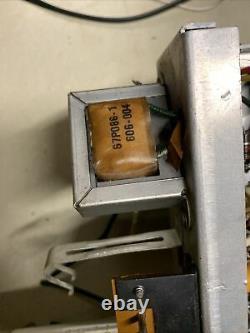Webcor Model 2007 Stereo Tube Amplifier Single Ended 6BQ5 + Mic Preamp Section