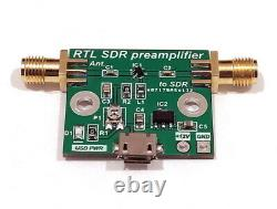 Wideband Low Noise Amplifier LNA SDR RTL preamplifier HF VHF UHF Receiver HAM