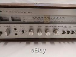 YAMAHA CR600 Vintage RECEIVER Tuner/Amp Amplifier tested works