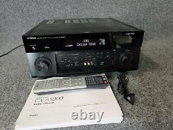 Yamaha CX-A5000 11.2 Channel Pre-Amplifier Surround Sound Receiver Works GREAT