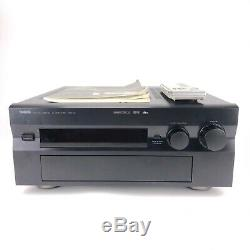 Yamaha DSP-A1 7.1 Channel Surround Receiver/Amp Excellent with remote and manual