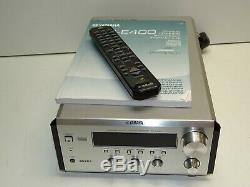 Yamaha RX-E400 Piano Craft Series Compact Size Receiver Amplifier + Remote Etc
