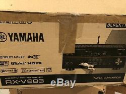 Yamaha RX-V683BL 7.2-Channel MusicCast AV Receiver with Bluetooth
