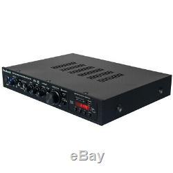 2000w 110v 5ch Home Stereo Amplificateur De Puissance Récepteur Amp Salut-fi Fm Sd Us