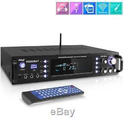 3000w Bluetooth Hybrid Pre Amp Amplificateur Fm Récepteur De Cinéma Maison Système