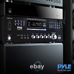 4 Canaux Préamplificateur Récepteur 1000 Watt De Montage En Rack Accueil Bluetooth