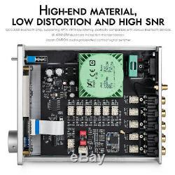 4 Voies Stéréo Rca Sélecteur Bluetooth 5.0 Audio Préamplificateur Récepteur Aptx Led