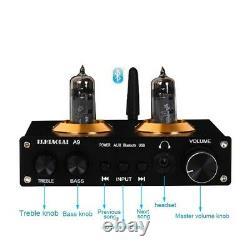 A9 Hifi Tube Preamp Headphone Amplificateur Bluetooth 5.0 Récepteur U Disk Playing Ts