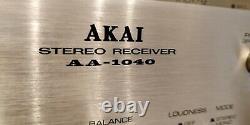 Akai Aa-1040 Récepteur Stéréo (1976-1977)