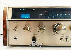 Akai Aa-910 Récepteur Avec Manuel + Phono Gwo De La Livraison Gratuite
