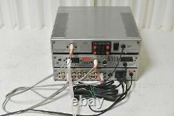 Amplificateur De Puissance Uc-a5 Akai Uc-w5 & Accordeur Uc S5