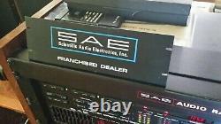 Amplificateur Stereo Sae, Préampli, Accordeur, Égaliseur, Récepteur Original Dealer Sign Xxrare
