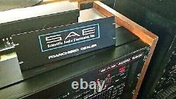 Amplificateur Stéréo Sae, Préampli, Accordeur, Égaliseur, Récepteur Original Dealer Sign Xxrare