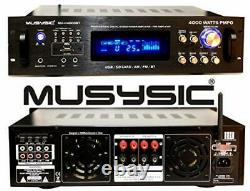 Amplificateur/pré-amplificateur/récepteur De Puissance Hybride Professionnel De 4000 Watts