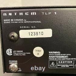 Anthem Mca 20 & Tlp 1 Stereo Power Amplificateur & Pré Amplificateur Nettoyé -testé