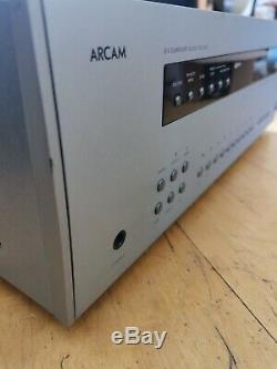 Arcam Avr300- Récepteur Av De Haute Qualité Marque Britannique Argent Utilisé