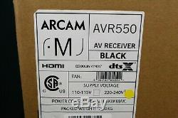 Arcam Avr550 Récepteur Av (noir). Flambant Neuf, Non Ouvert. Livraison Internationale