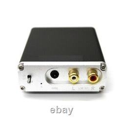 Audio Bluetooth Récepteur Dac Décoder Support Amplificateurs Noirs 16bit 48khz Préampli