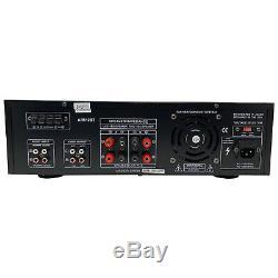 Audioronics Ar512bt 1500 Watt Amplificateur De Puissance Intégré Pré-ampli Stéréo Récepteur