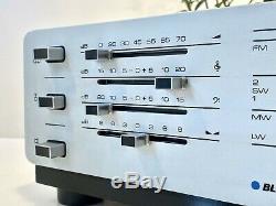Blaupunkt Delta Fm-am 2091 Récepteur, Toute Nouvelle Résidence! Vintage Ratität Dans Weiß