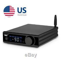 Bluetooth 5.0 Usb Récepteur Amplificateur Intégré Convertisseur Audio N Opt / Coa Sub Nfc À Distance