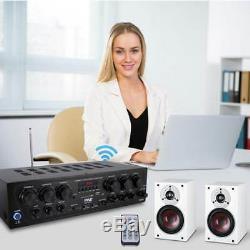 Bluetooth Audio Amplificateur, 2-ch. Audio Source Stéréo Récepteur Radio Withfm Sys