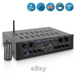 Bluetooth Audio Puissance 500w Amp Amplificateur Stereo Home Cinéma Récepteur De Système