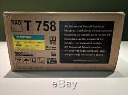 Brand New Nad T 758 V3 Récepteur Home Cinéma 7.1 Canaux Retail 1399,00 $