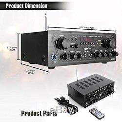 Compact Bluetooth Audio Amplificateur, Source Audio Stéréo Récepteur Système