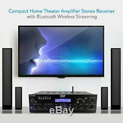 Compact Home Cinéma Amplificateur Stéréo Avec Récepteur Sans Fil Bluetooth En Streaming