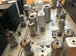 Condition D'origine Fisher 500-c Tube Stéréo Récepteur Amplificateur Préampli Phono
