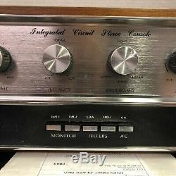 Couronne Ic-150 Stereo Vintage Console Préamplificateur Serviced Nettoyé Testé