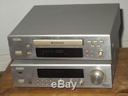 Denon Dra-f100 Amplificateur / Am / Fm Stéréo + Denon Drr-f100 Cassette