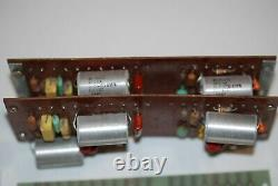Dynaco Sca80 Pre Amplificateur Circuit Boards, Deux Avec Van Alstine Mod