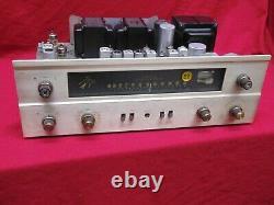 Fisher 400 7868 Tube Stereo Amplificateur Fm Preamp Récepteur