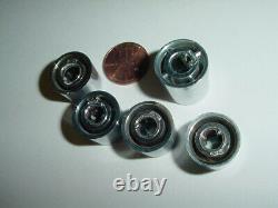 Heathkit 5 Pieces Control Knob Lot Pour Récepteur D'accordeur Préamplificateur Amplificateur