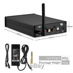 Hifi 12au7 Tube Bluetooth 5.0 Dac Optique Coaxial Audio Stéréo Récepteur Aptx-hd